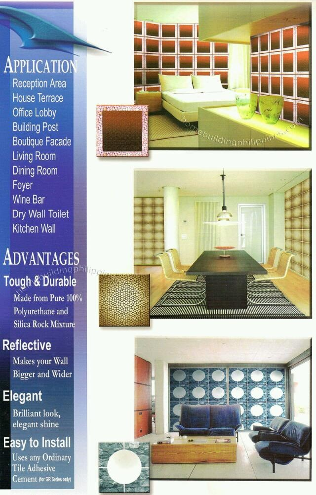 Homebuildingphilippines Corsini 02 Glass Decorative Wall Tiles Applications