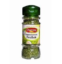A magic mix of salt, parsley and garlic. So versatile, I buy half a dozen at a time to use in everything from salad dressings to roast chicken.