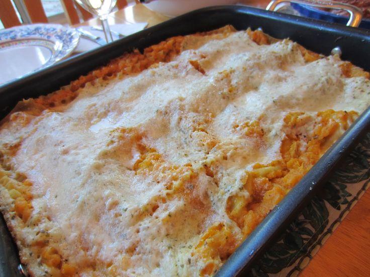Butternut Squash Lasagna - a Giada De Laurentiis recipe. So unique and delicious! Comfort food taken to the next level.