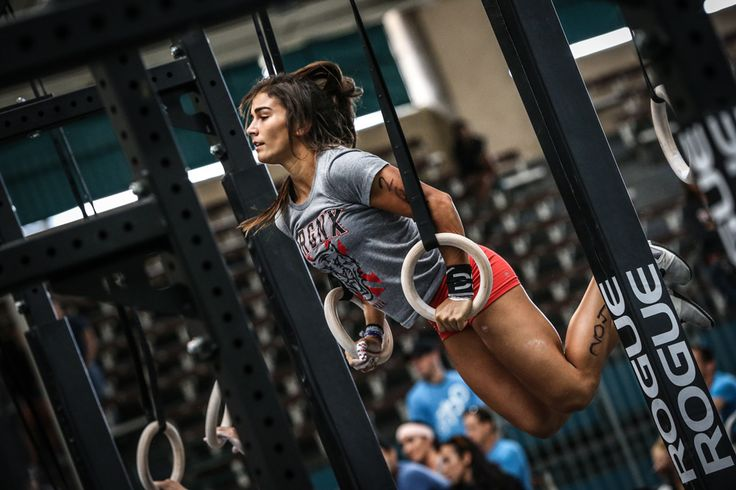 Rogue Fitness Wood Gymnastic Rings - Lauren Fisher
