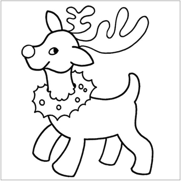 free printable christmas coloring pages for toddlers