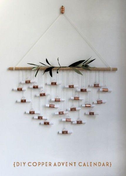 copier tube advent calendar 15 idées de calendrier de l'avent - Lili in Wonderland