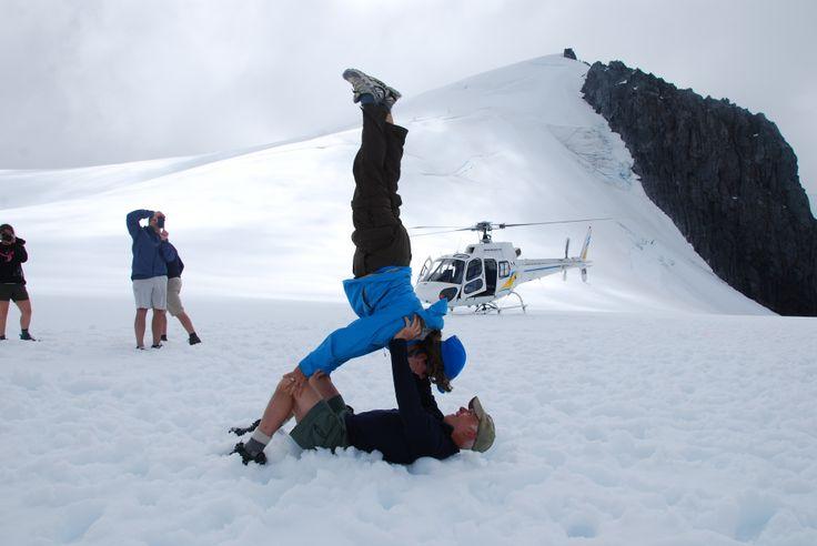 January 2014 Active Adventures Rimu trip courtesy of Barb Wentworth. #activeadventures #milfordsound #glacier