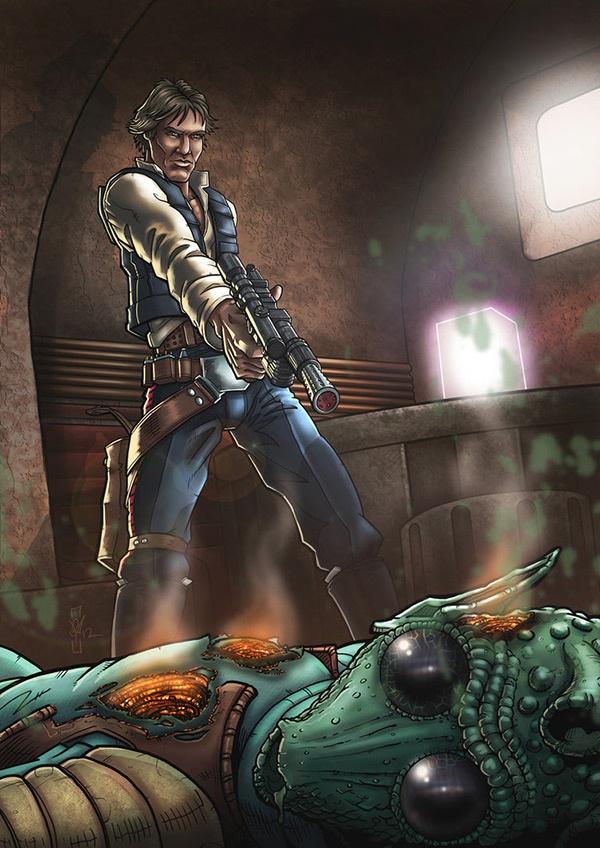 ✿ Han Shot First ~ http://DazTibbles.deviantart.com/art/Han-Shot-First-285555935 ✿