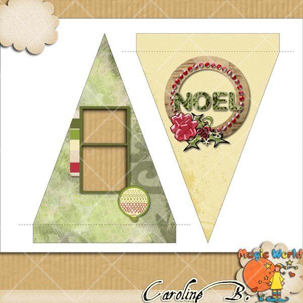 Happy Noel Flags