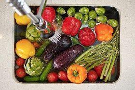 Lavado de frutas y verduras