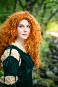 Merida Cosplay  #Scotland #Light #photo #trip #placetobe #travel #paradise #Merida #landscape #nature