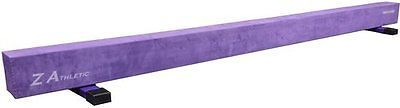 Equipment 79793: Z-Athletic Gymnastics Off Ground Training Balance Beam (Brown/Pink Color) BUY IT NOW ONLY: $234.49