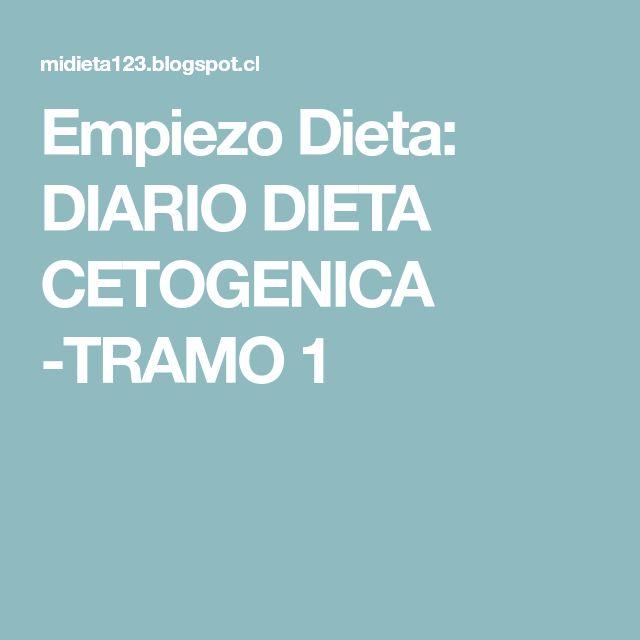 Empiezo Dieta: DIARIO DIETA CETOGENICA -TRAMO 1