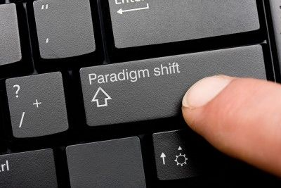 a paradigm shift from the old to the new - as easy as hitting a key on your keyboard or is it?