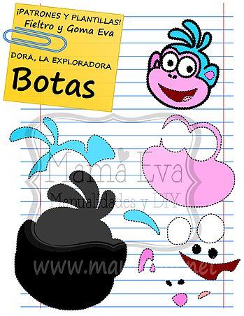Plantillas Personajes Actuales Dora La Exploradora