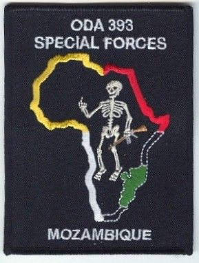 3rd Special Forces Group Pocket Patches Operational Detachment A-393 C Company, 3rd Battalion