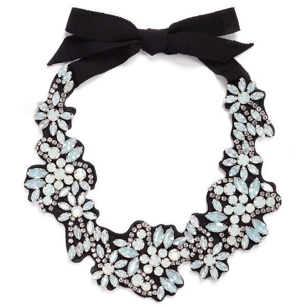 j.crew Fabric-backed crystal cluster necklace ($170) ❤ liked on Polyvore featuring jewelry, necklaces, j crew jewelry, j.crew necklace, crystal cluster necklace, long necklace and white jewelry
