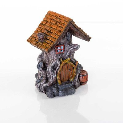 Bergan Pet Products Decorative Woodland House Aquarium Sculpture