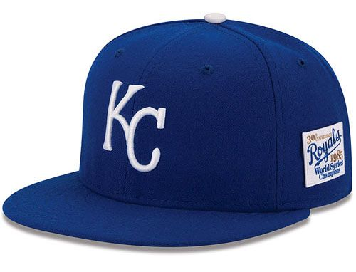 Kansas City Royals 30th Anniversary 1985 World Series 59Fifty Fitted Baseball Cap by NEW ERA x MLB
