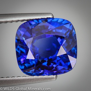 Royal Blue Sapphire by WILDS Global Minerals, via Flickr