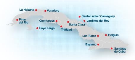 Tourism in Cuba - Turismo en Cuba