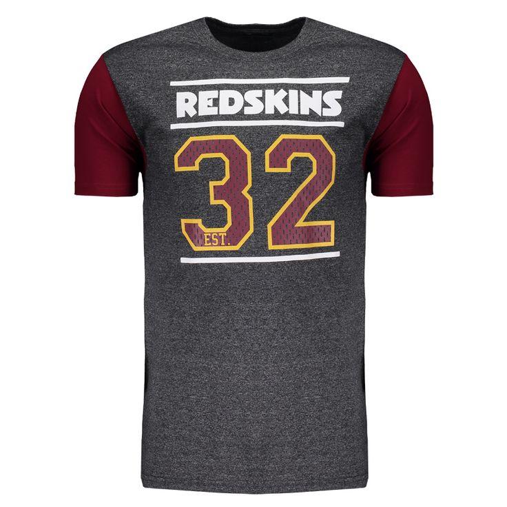 3341a48c5a7dd ... Camiseta New Era NFL Washington Redskins Grafite Somente na FutFanatics  você compra agora Camiseta New Era camiseta new era especial jersey ...
