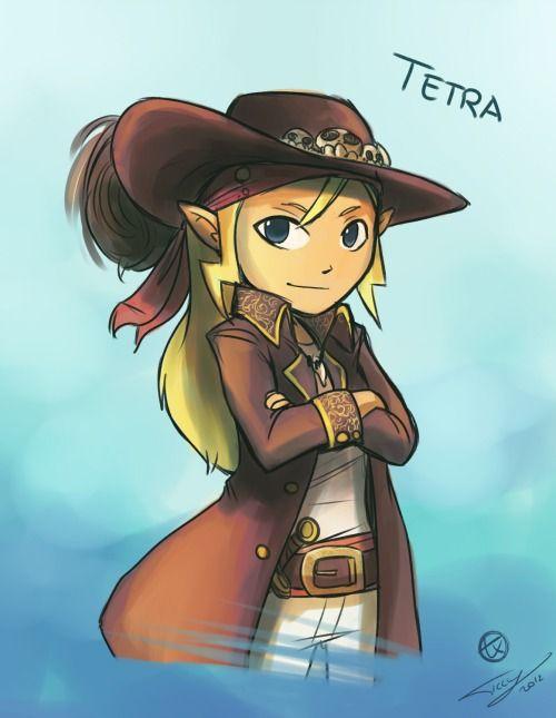 Character Design Challenge Zelda : Characters challenge day this is tetra legend