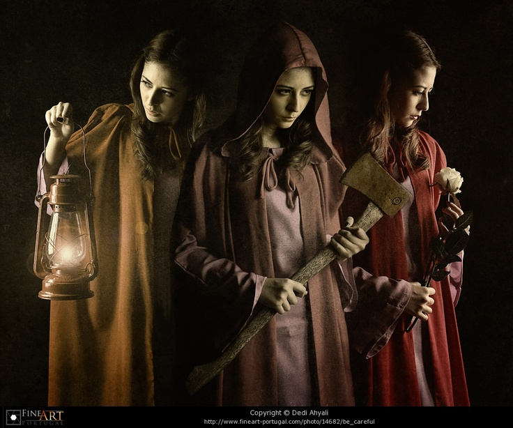 The huntsman's daughters