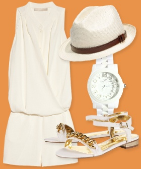 Perfect Sunday brunch outfit for Memorial Day weekend and beyond...