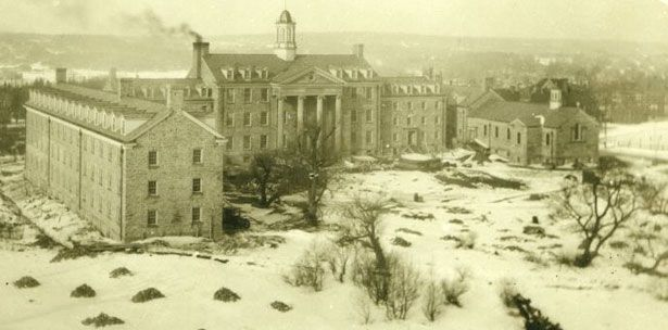 Campus View of King's College in 1928