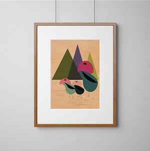 Birds-On-The-Move-Mid-Century-Modern-Eames-Style-Prints-Digital-Print-On-Wood