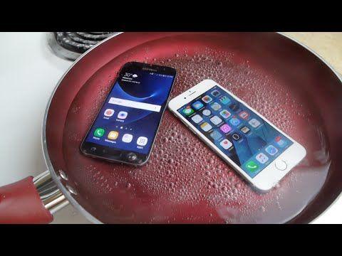 Samsung Galaxy S7 vs iPhone 6s, la prova di cottura a vapore