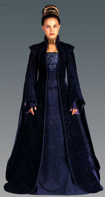 Diana's Padme Senatorial Gown! Star Wars Costume payment 2