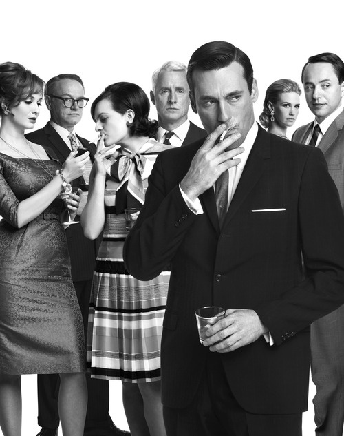 Mad Men Cast photography by Frank Ockenfels
