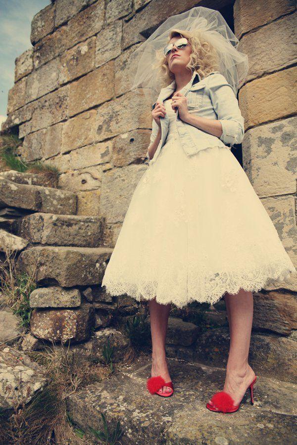 29-bride-wedding-dress-short-lacy-aviators-rock-roll