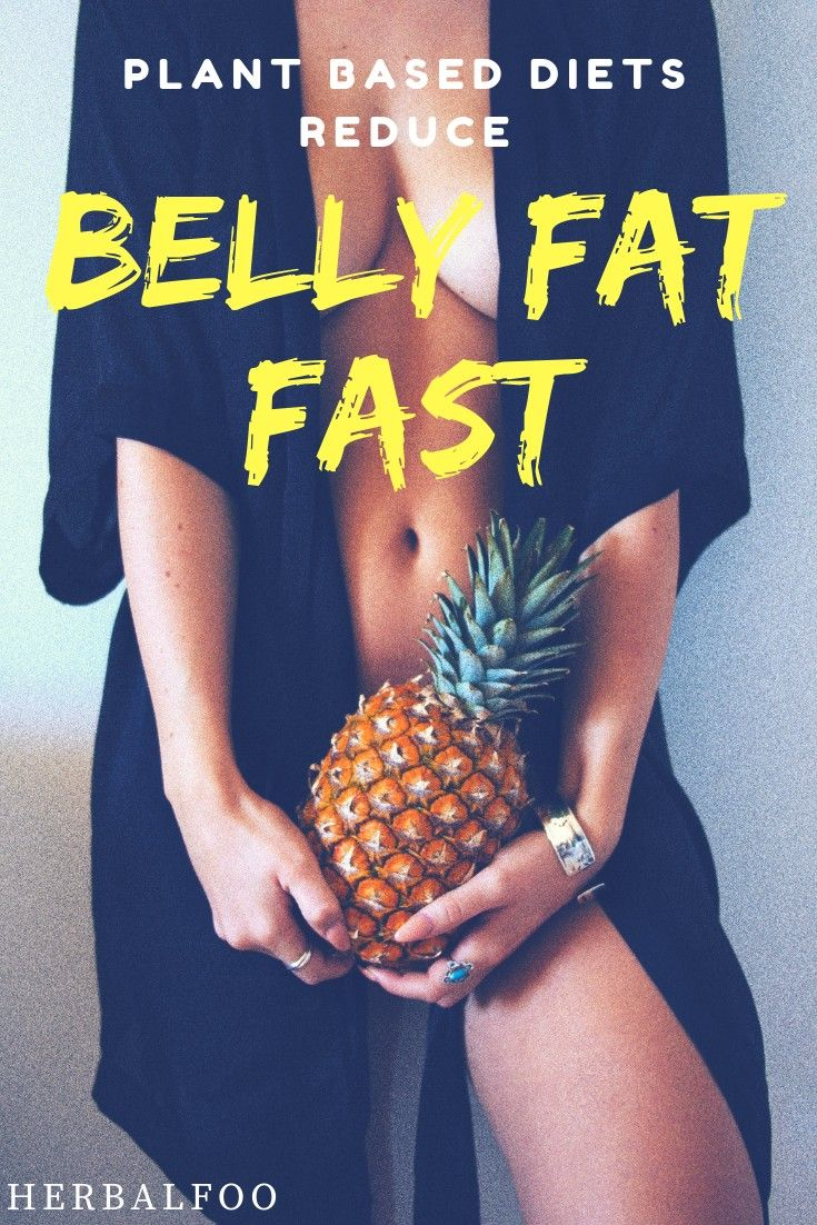 plant based diet and belly fat