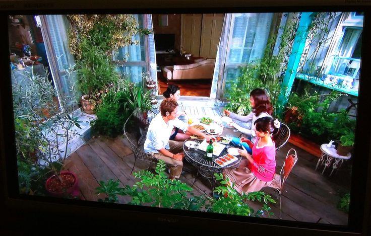 garden by TV drama