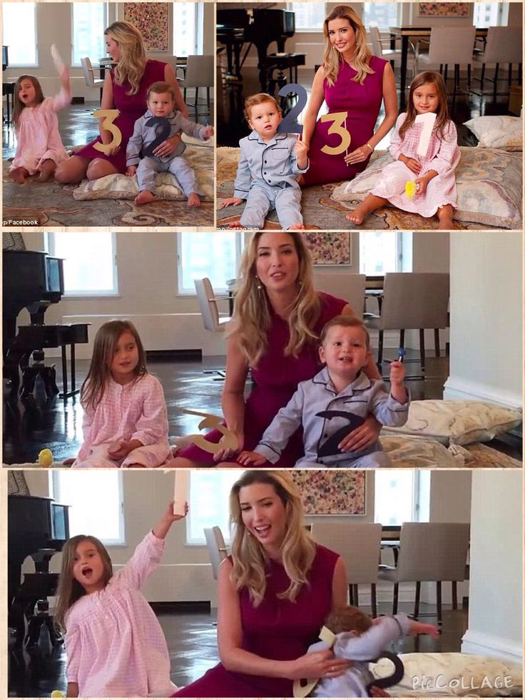 post ivanka trump kids adorably announce
