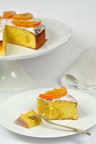 Gâteau très italien, amandes et oranges et citron sans gluten - Et si c'était bon...