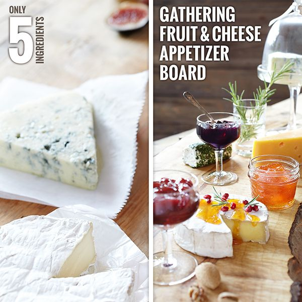 Gathering Fruit & Cheese Appetizer Board from Smucker ®