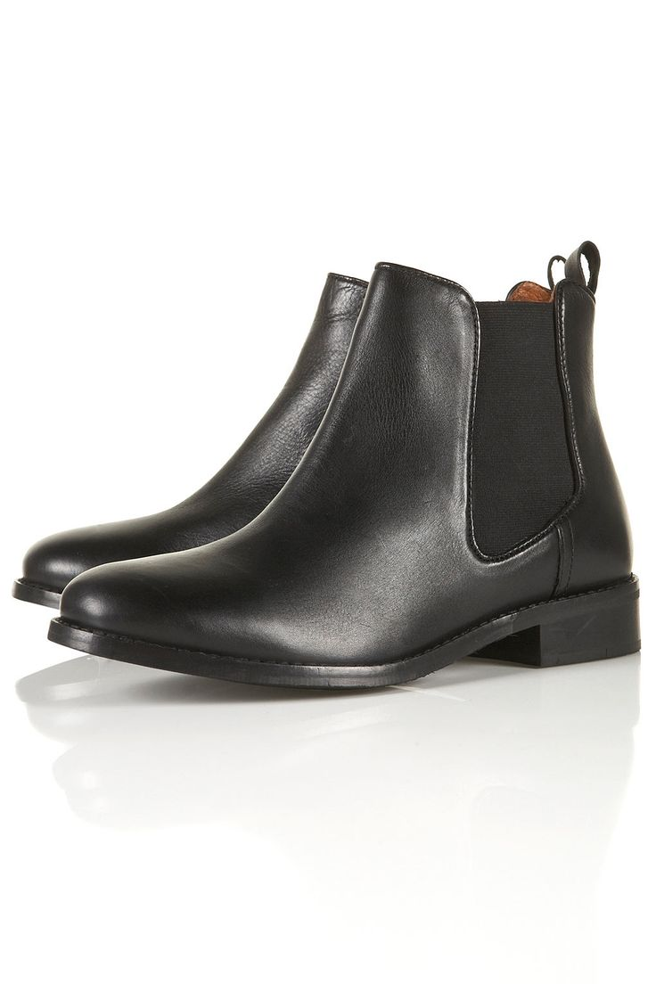 April Classic Chelsea Boots ($124) - these shoes remind me of those perfect black Beatle boots