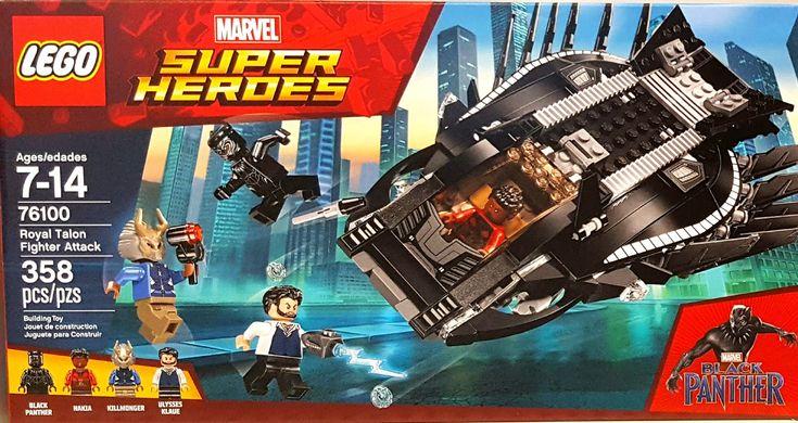 Black Panther Royal Talon Fighter Attack Lego set