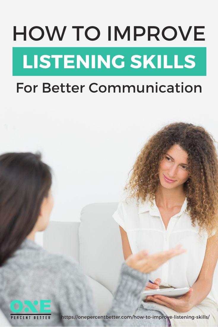 How to improve listening skills for better communication