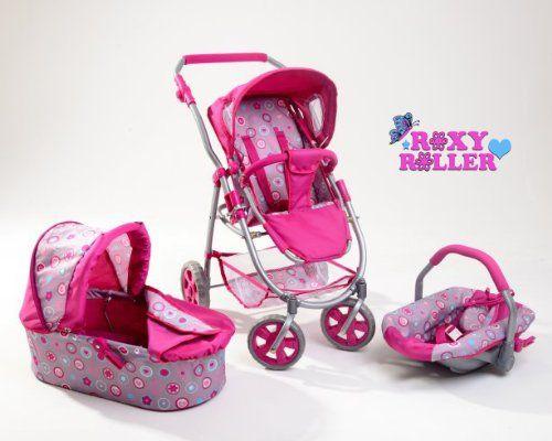 Hello Kitty Stroller For Dolls Roxy Roller Childrens