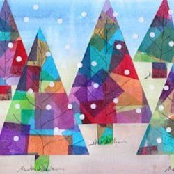 Elementary Winter Art Lessons | Arts And Crafts For Christmas For Preschoolers