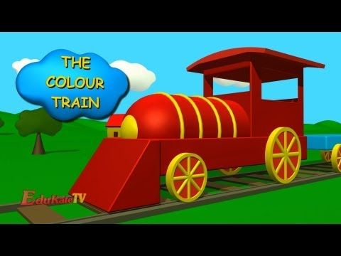 ▶ The Color train - YouTube