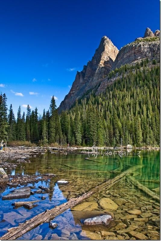 Национальный парка Йохо, Британская Колумбия, Канада