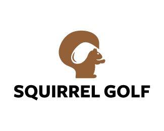 Logo Design - Squirrel Golf