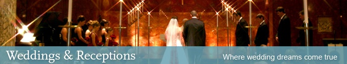 Wedding church for rent- Nazareth Chapel, St Paul MN