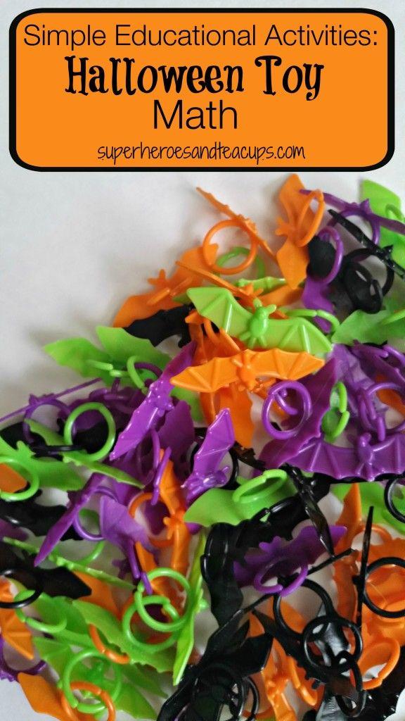 Toys For Halloween : Halloween toy math activities toys
