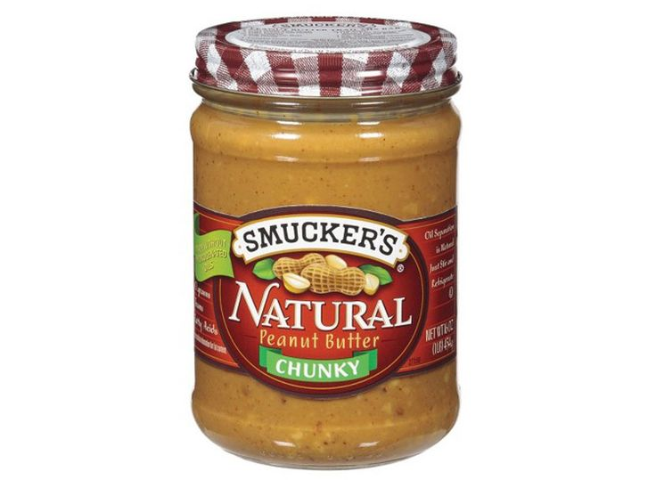Smuckers natural peanut butter crunchy
