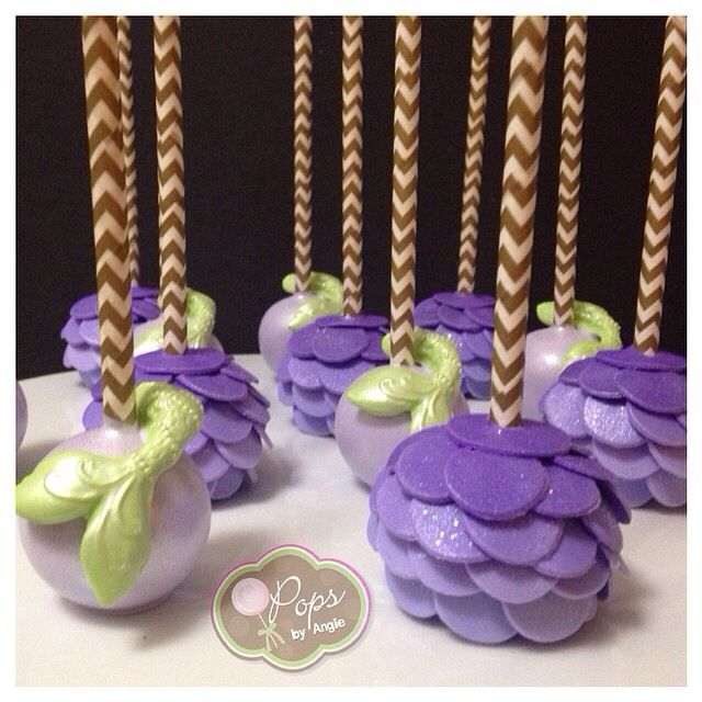 Mermaid Cake Pops                                                                                                                                                                                 More
