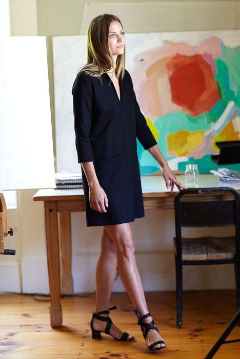 Mod Dress - Black   Emerson Fry