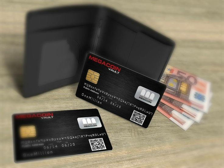 Megacoin card project.